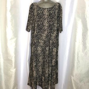 Jones of New York leopard midi dress